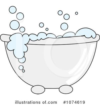 Book clipart tub Illustration Free Bath Tub Stock