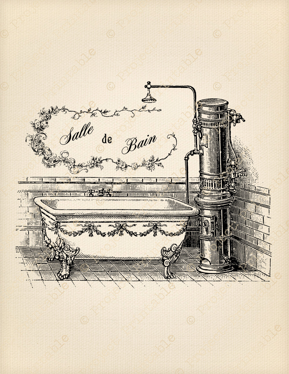 Bathtub clipart vintage Fashioned Art Clip Old Tubethevote