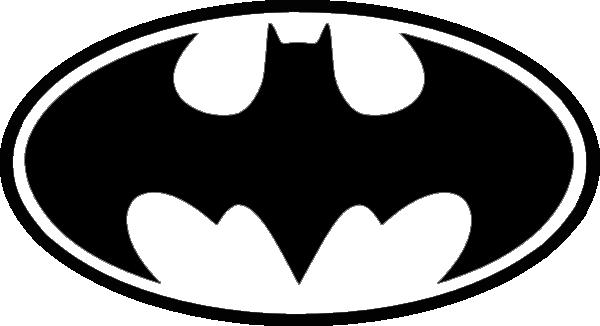 Batman clipart #4130 Black Logo com Batman