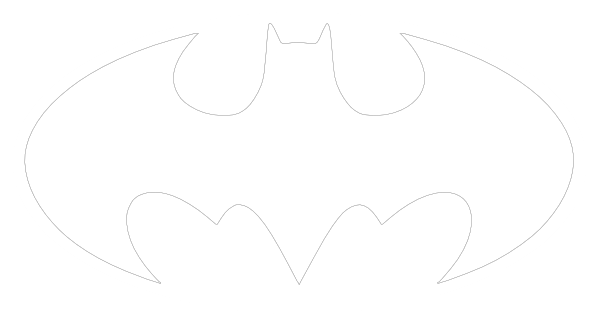 Batman clipart black and white Clip Symbol Library Batman Black