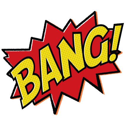 Batman clipart boom #2