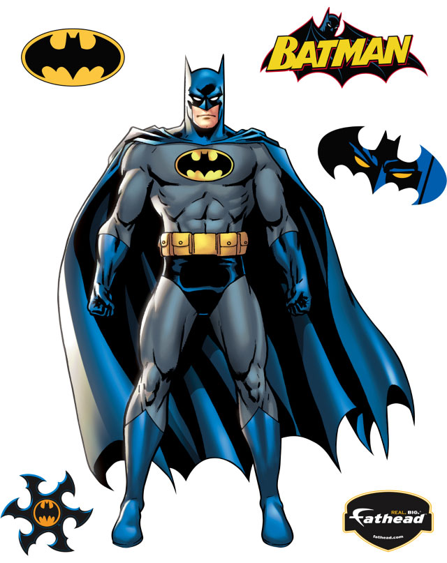 Batman clipart comic book Zoom Fathead Book jpg Graphic