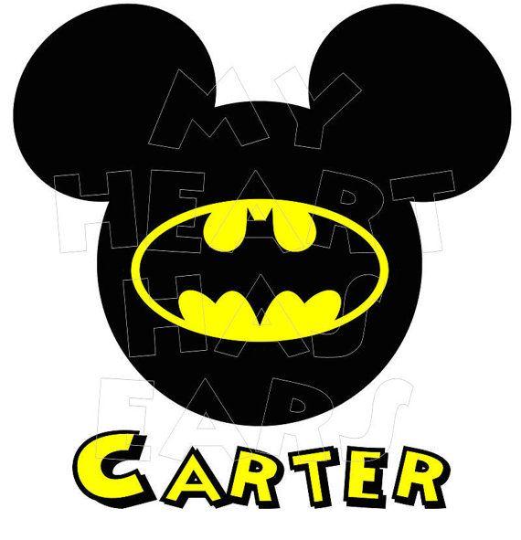 Batman clipart ear #8