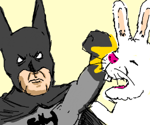 Batman clipart child Bunny Bunny Easter Batman Easter