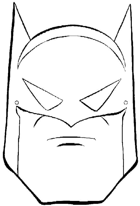 Batman clipart head Batman Awesome face Free face