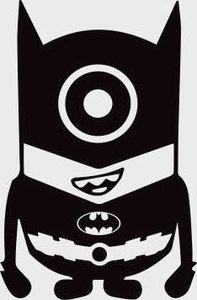 Batman clipart minion #15