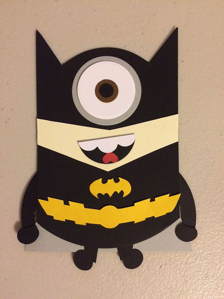 Batman clipart minion #5