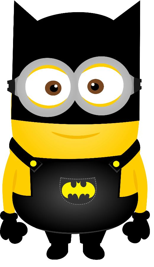 Batman clipart minion #8