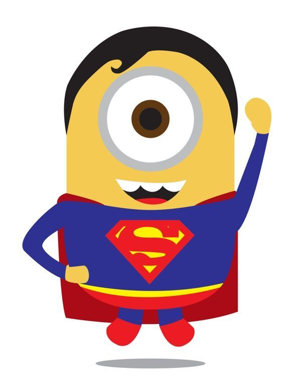 Batman clipart minion #14