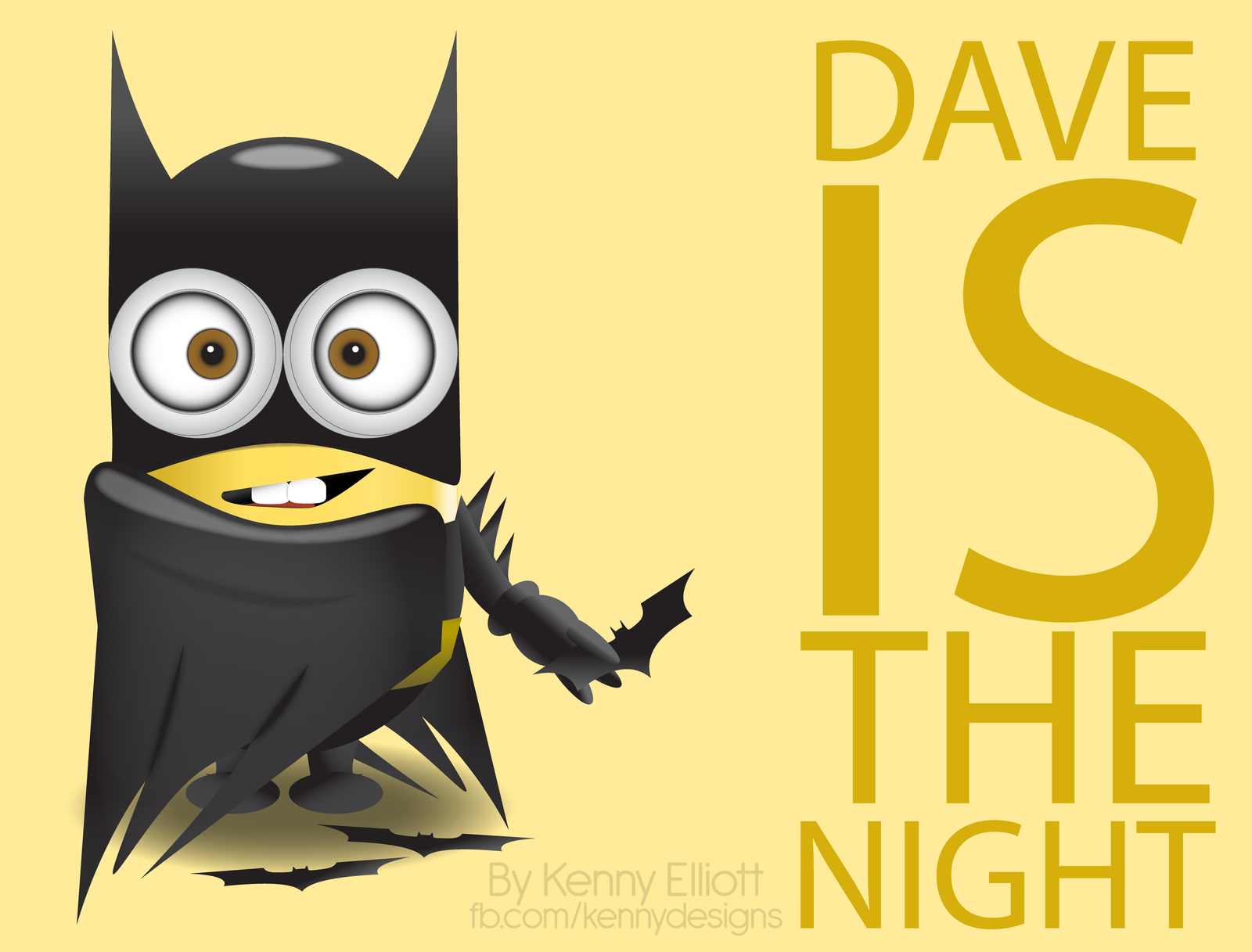 Batman clipart minion #11