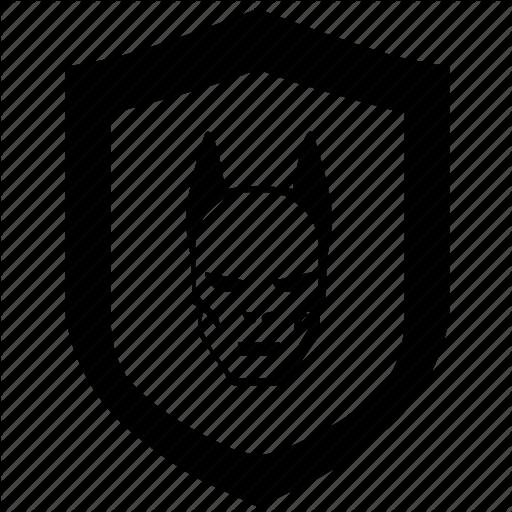 Batman clipart shield Bad death batman Icon shield