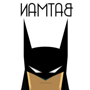 Batman clipart smiley face #13
