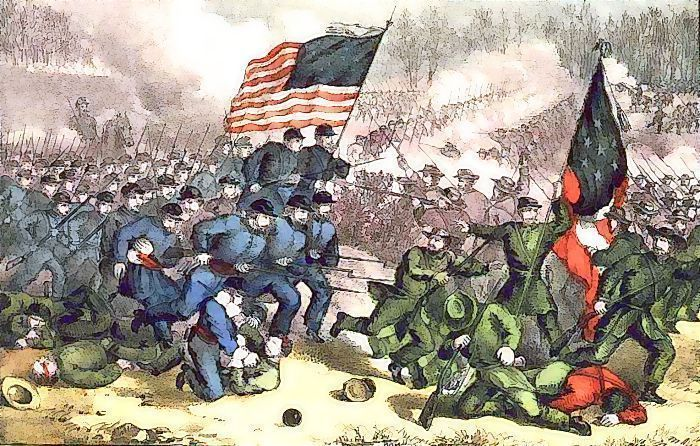 Civil War clipart usa Bull /American_History/civil_war/battles html  Bull