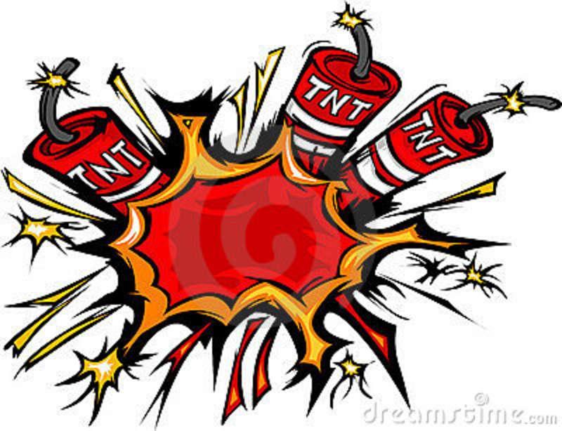 Battle clipart dynamite explosion #6