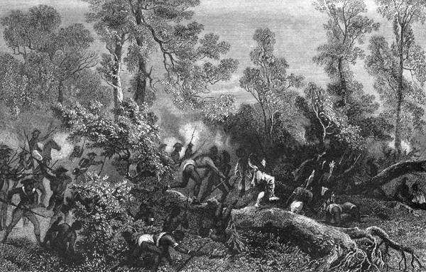 Battle clipart fallen timbers Of Battle Battle of Scene