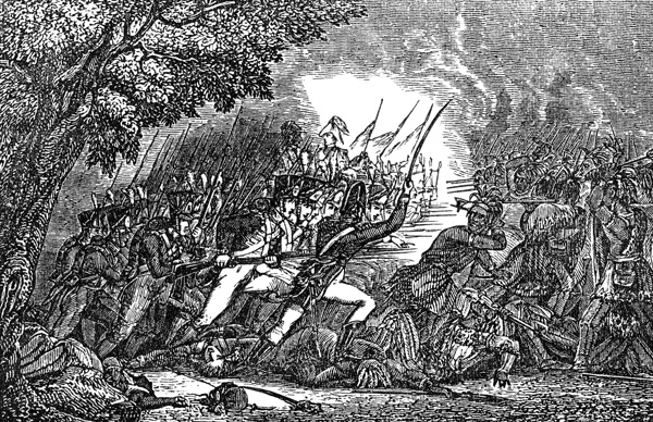 Battle clipart fallen timbers Timbers the Battle Defeating of