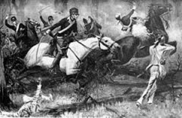 Battle clipart fallen timbers Native Battle of of Migration