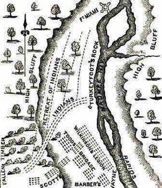 Battle clipart fallen timbers Wayne Battle Map Timbers of