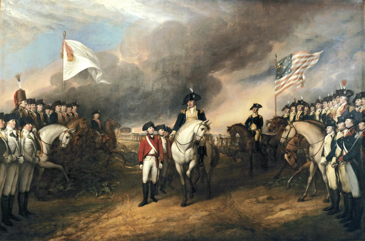 Battle clipart yorktown surrender #13