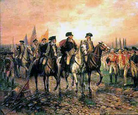 Battle clipart yorktown surrender #11