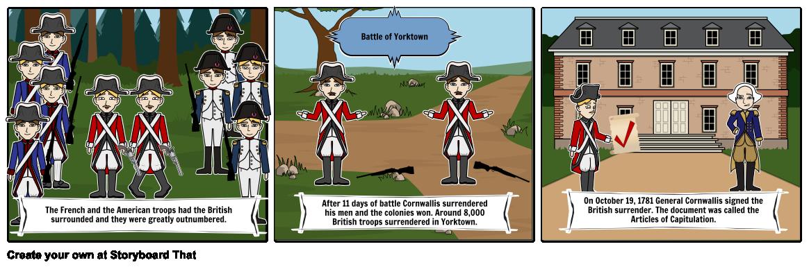 Battle clipart yorktown surrender #2