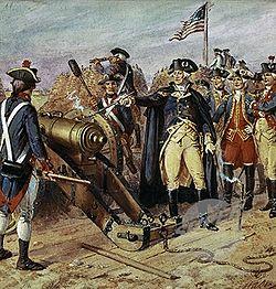 Battle clipart yorktown surrender #10
