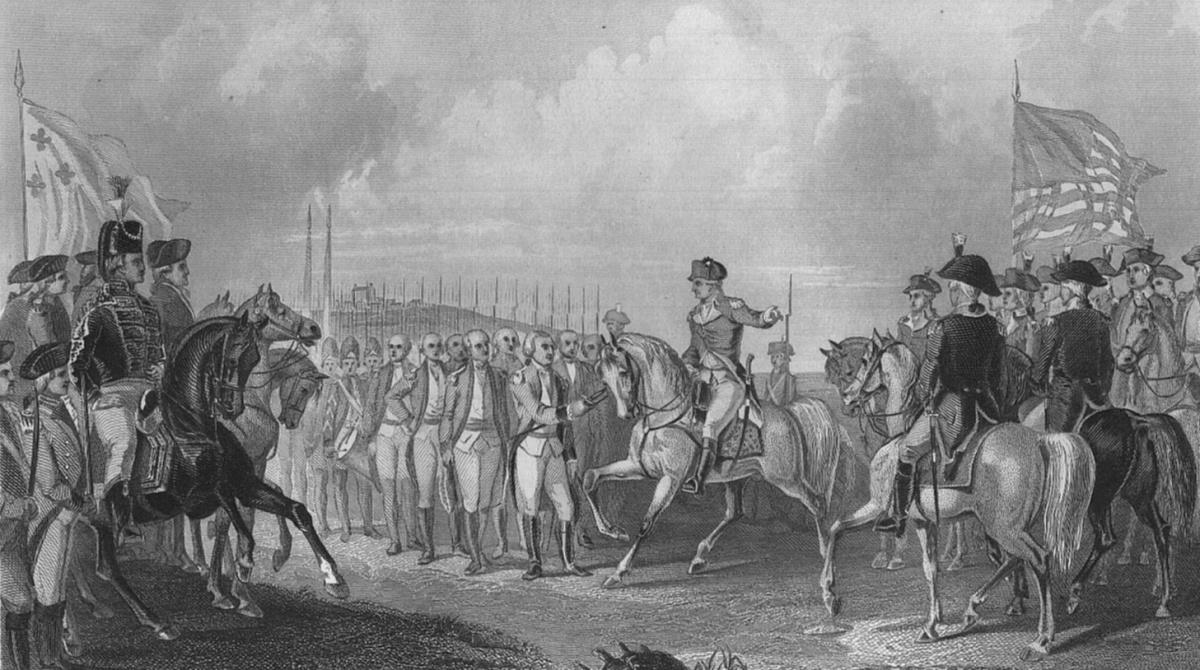 Battle clipart yorktown surrender #6