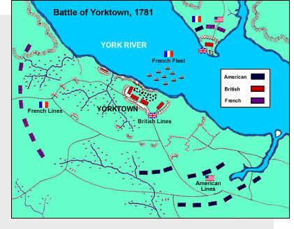 Battle clipart yorktown surrender #12