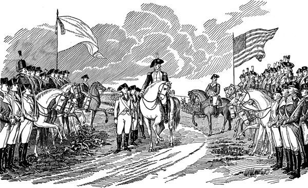 Battle clipart yorktown surrender #7
