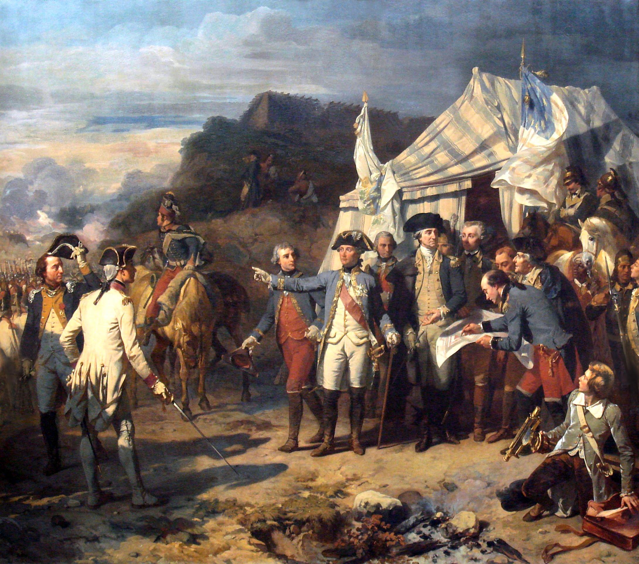 Battle clipart yorktown surrender #9