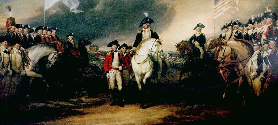 Battle clipart yorktown surrender #1