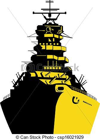 Ship clipart battleship #6