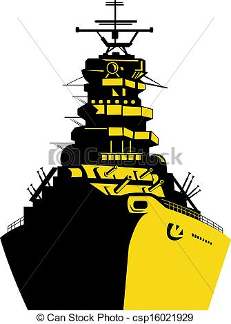 Battleship clipart Retro Stock of Battleship Art