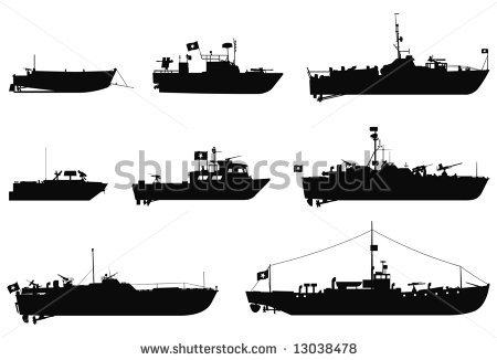 Battleship clipart Battleship cliparts Silhouette Game Clipart