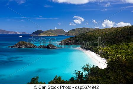 Bay clipart beach landscape St Trunk Photo  Bay
