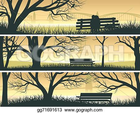Bay clipart beach landscape Vector bay beach with bridge