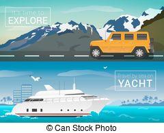 Bay clipart land and sea Bay the islands Vector sea