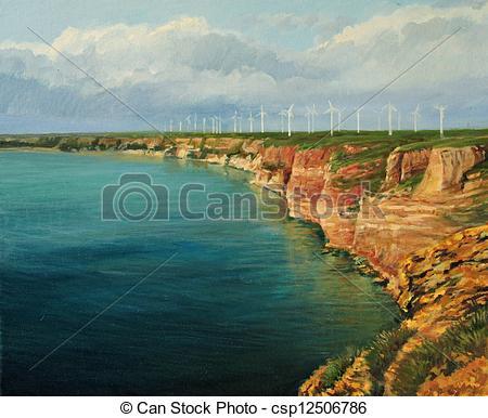 Bay clipart land and sea Sea Bulgarian cape crystal Land