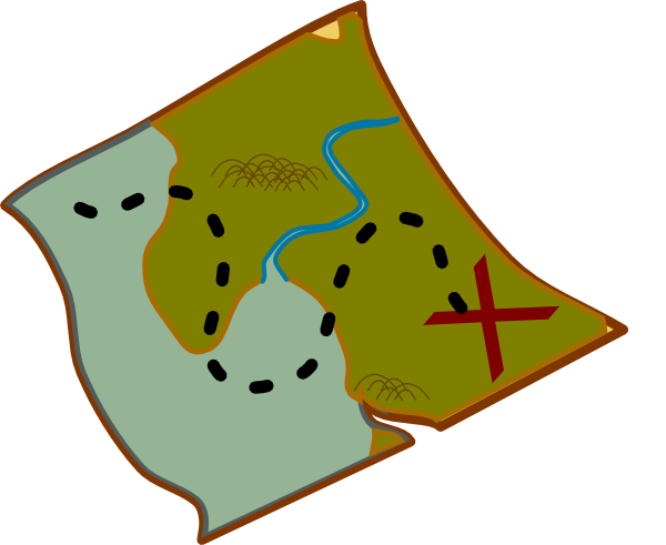 Bay clipart maps Clipart Clipart Treasure Map Map