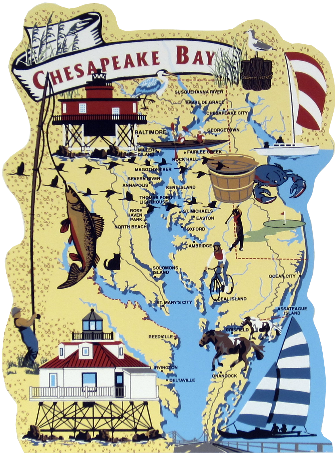 Bay clipart beach landscape Cat's Chesapeake Bay The Meow