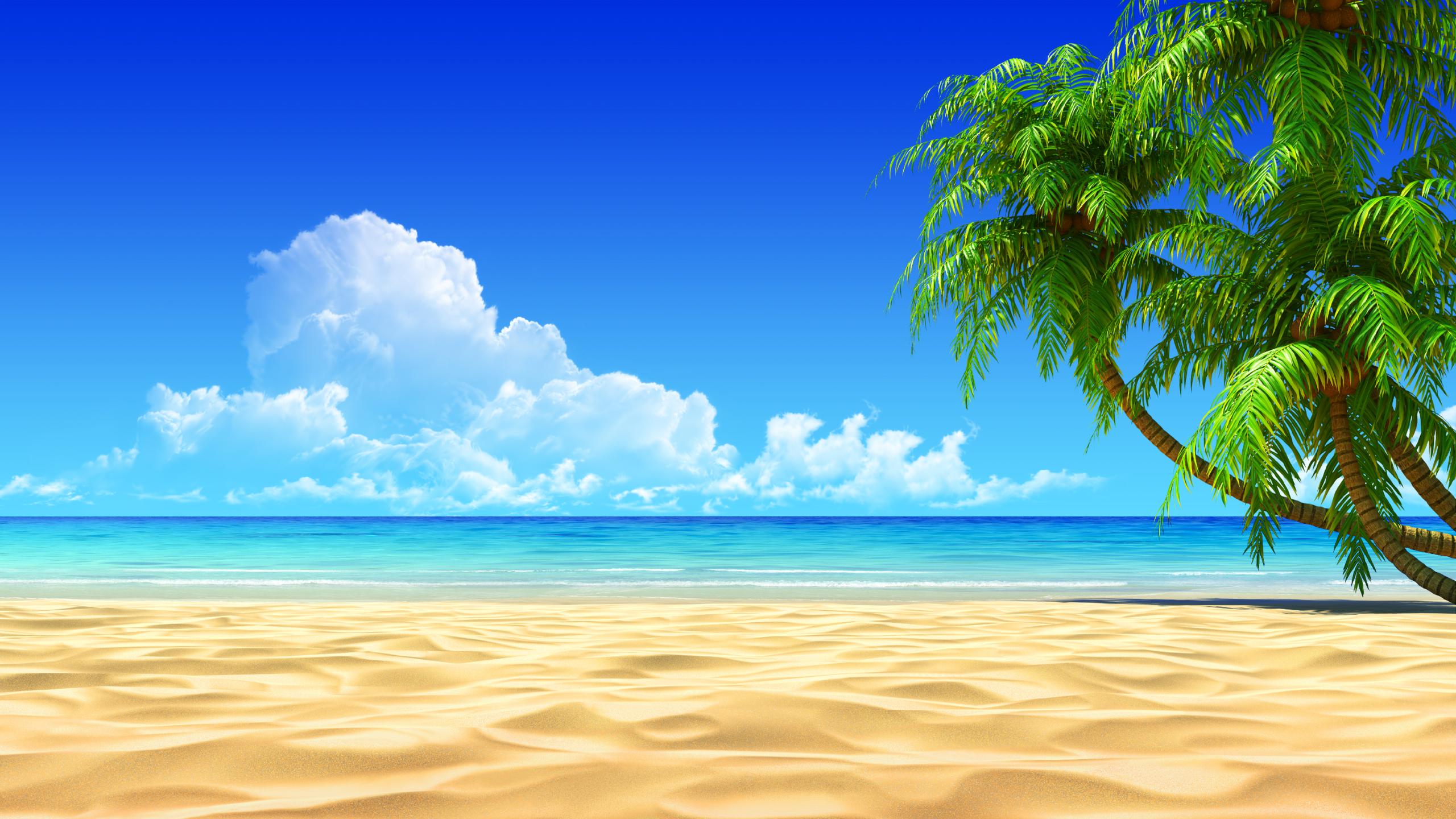Sea clipart beach background #11