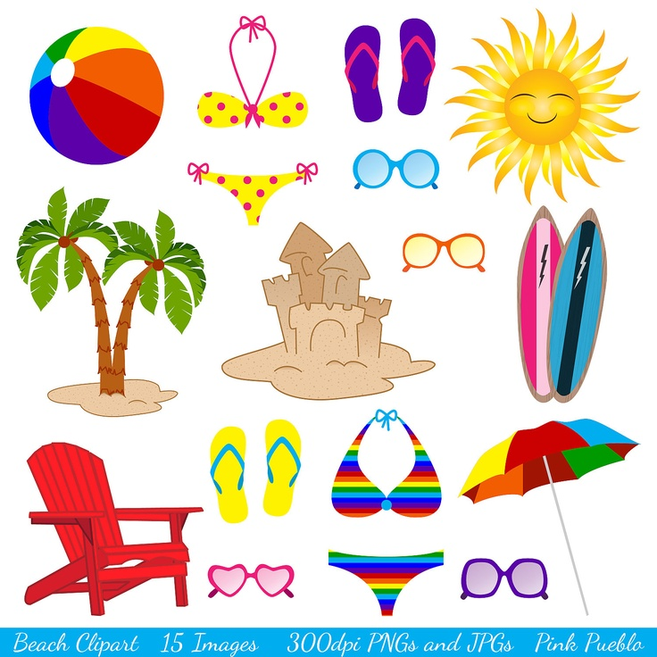 Resort clipart beach theme Clipart Beach clipart best Pinterest
