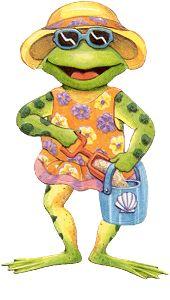 Beach clipart frog * Pinterest Frog Beach 1182