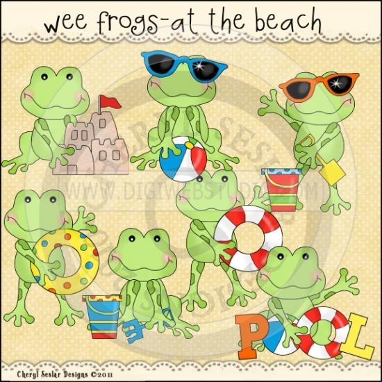 Beach clipart frog Beach Cheryl 1 Seslar The