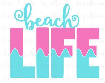 Beach clipart life SVG Life SVG SVG Silhouette