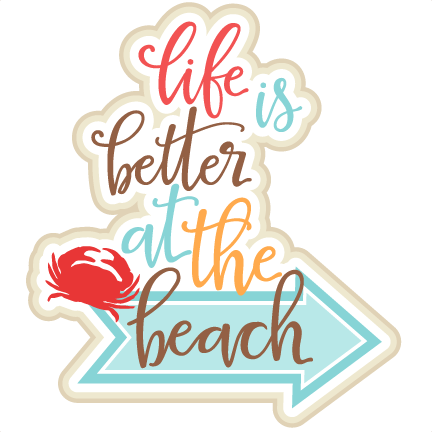 Beach clipart life Cute Title Title Life is