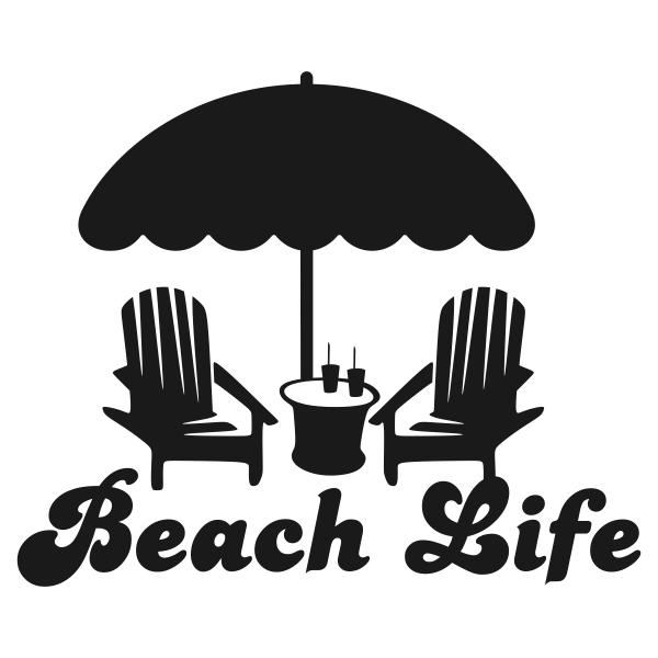 Beach clipart life Life Life Svg Beach Cuttable