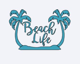 Beach clipart life Car Tree Tree Palm Beach