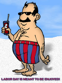 Beach clipart man at With At The Beach Clipart