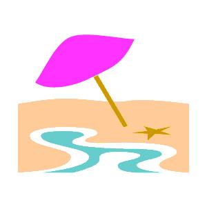Beach clipart desert island Clipart Summer Printable Summer Clipart